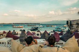 Indonesia Gili Trawangan Beach Relax Backpacker Backpacking Travel