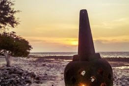Indonesia Gili Trawangan Stupa Sunset Beach Backpacker Backpacking Travel
