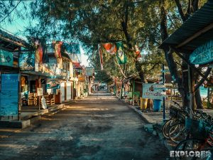 Indonesia Gili Trawangan Sunrise Beach Backpacker Backpacking Travel