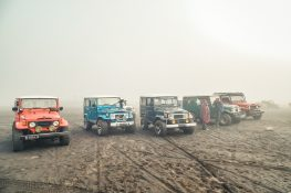Indonesia Probolinggo Mount Bromo Jeeps Sea Of Sand Segara Wedi Backpacking Backpacker Travel