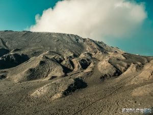 Indonesia Probolinggo Mount Bromo Stairs Backpacking Backpacker Travel