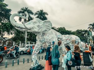Indonesia Yogyakarta Art Elephants Backpacking Backpacker Travel