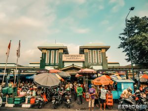 Indonesia Yogyakarta Market Backpacking Backpacker Travel
