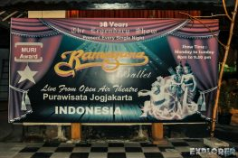 Indonesia Yogyakarta Ramayana Ballet Dinner Garden Backpacking Backpacker Travel