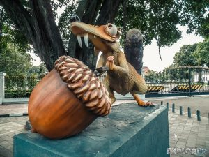 Indonesia Yogyakarta Scrat Ice Age Backpacking Backpacker Travel