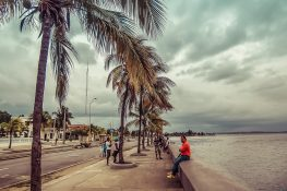 cuba cienfuegos malecon backpacker backpacking travel