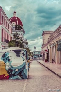 cuba cienfuegos pedestrian road backpacker backpacking travel