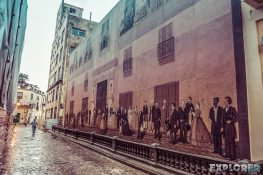 cuba havana mural backpacker backpacking travel