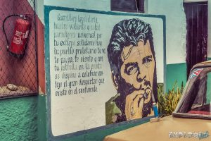 cuba santa clara che guevara mural backpacker backpacking travel