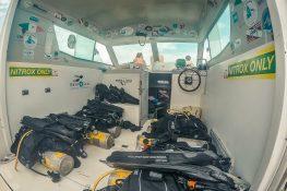cuba trinidad playa ancon scuba diving boat backpacker backpacking travel