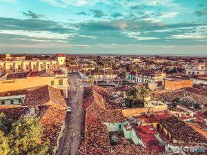 cuba trinidad san francisco de asis church view backpacker backpacking travel