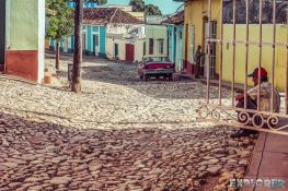 cuba trinidad streets backpacker backpacking travel