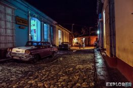 cuba trinidad streets night backpacker backpacking travel