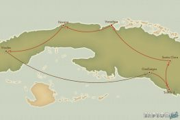 Route Cuba Vinales Cienfuegos Backpacking Backpacker Travel