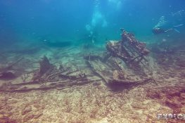 cuba varadero beach scuba dive neptuno wreck backpacker backpacking travel