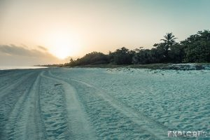 cuba varadero beach sunrise backpacker backpacking travel
