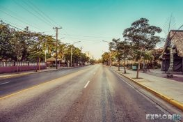 cuba varadero empty street morning backpacker backpacking travel