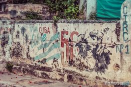 cuba varadero graffiti wall backpacker backpacking travel