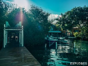 Belize Caye Caulker Pause Pier Backpacker Backpacking Travel