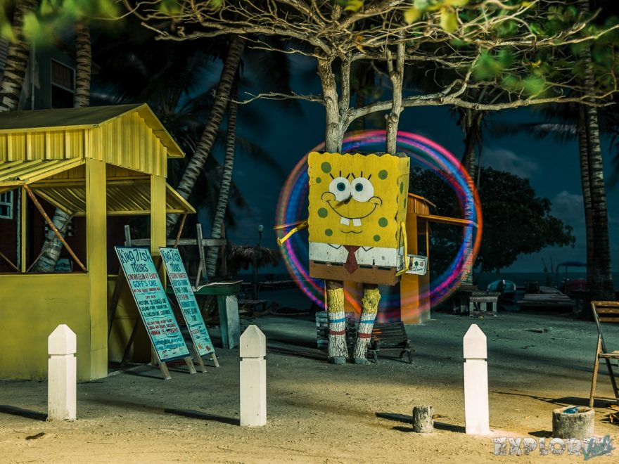 Belize Caye Caulker Spongebob Backpacker Backpacking Travel 3