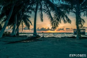 Belize Caye Caulker Sunrise Backpacker Backpacking Travel 6