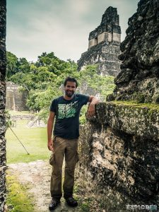 Guatemala Tikal Mario Backpacker Backpacking Travel