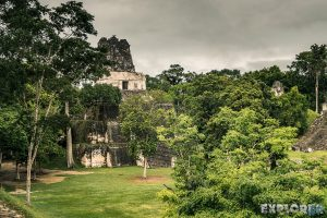 Guatemala Tikal Temple Ruins Backpacker Backpacking Travel 3