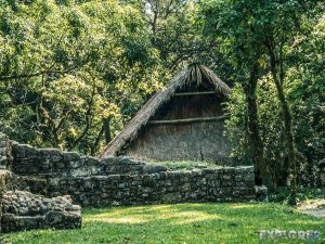 Mexico Palenque Hut Backpacking Backpacker Travel