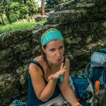 Mexico Palenque Temple Verena Nutella Backpacking Backpacker Travel 2