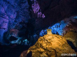 Mexico Ruta Puuc Loltun Caves Head Backpacker Backpacking Travel