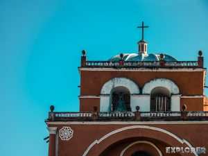 Mexico San Cristobal De Las Casas Church Backpacker Backpacking Travel