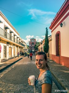 Mexico San Cristobal De Las Casas Pedestrian Road Backpacker Backpacking Travel 2