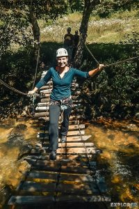 Mexico San Cristobal De Las Casas Zipline Canyon Verena Backpacker Backpacking Travel