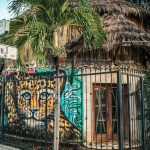 Mexico Tulum Graffiti Leopard Backpacking Backpacker Travel