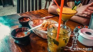 Mexico Tulum Mango Daiquiri Backpacker Backpacking Travel