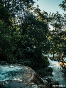 Palenque Agua Azul Waterfall Backpacking Backpacker Travel