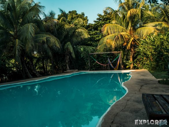 Mexico Palenque El Colombre Pool Backpacking Backpacker Travel