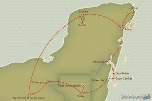 Route Mexico Merida Uxmal Ruta Puuc Backpacker Backpacking Travel