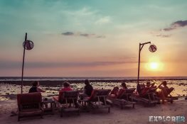Indonesia Gili Trawangan Sunset Backpacker Backpacking Travel