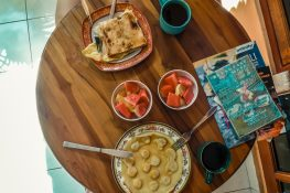 Indonesia Ubud Ekas Homestay Breakfast Backpacking Backpacker Travel