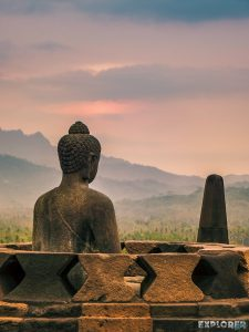 Indonesia Yogyakarta Borobudur Budda Sunset Temple Backpacking Backpacker Travel