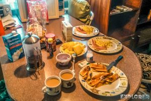 Panama Bocas Del Toro Breakfast Backpacking Backpacker Travel