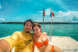 Panama Bocas Del Toro Scuba Diving Boat Backpacking Backpacker Travel 2