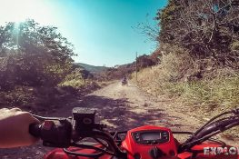 Panama Boquete Quad Riding Backpacking Backpacker Travel