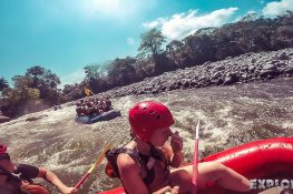 Panama Boquete Rafting High Five Backpacking Backpacker Travel 2