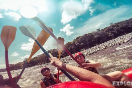 Panama Boquete Rafting High Five Backpacking Backpacker Travel
