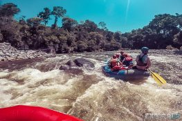 Panama Boquete Rafting Rapid Backpacking Backpacker Travel