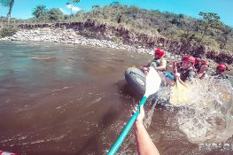Panama Boquete Rafting Rapid Backpacking Backpacker Travel