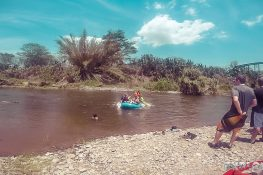 Panama Boquete Rafting Rapid End Backpacking Backpacker Travel