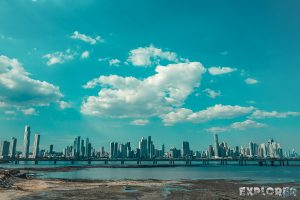 Panama City Casco Viejo Skyline Backpacker Backpacking Travel 2